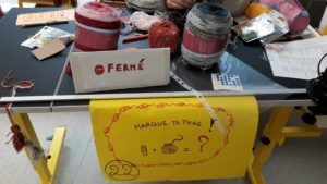 Stand marque-page