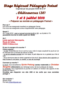 stage Freinet