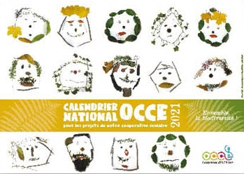 Le calendrier national OCCE 2021 – OCCE37